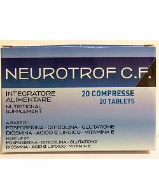 NEUROTROF C.F. 20CPR prezzi bassi