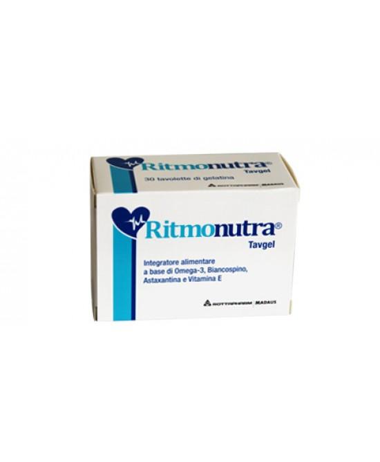 Rottapharm Ritmonutra Integratore Alimentare 30 Capsule Softgel - Farmastar.it