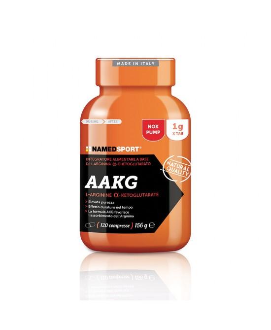 Named Sport AAKG Arginina 120 Compresse - Farmaconvenienza.it