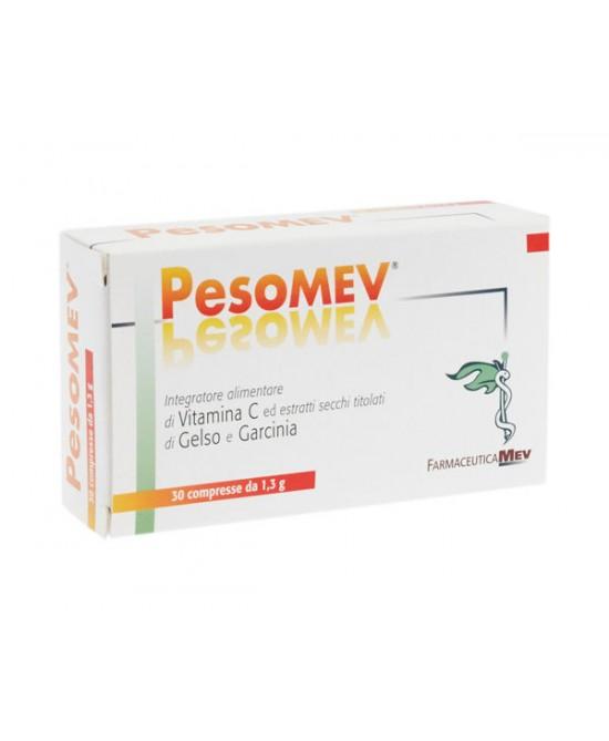 Farmaceutica Mev Pesomev Integratore 30 Compresse