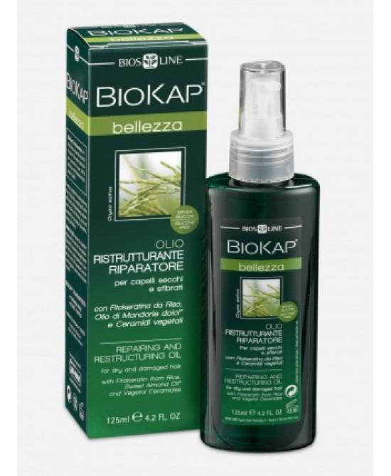 Bios Line BioKap Olio Ristrutturante Riparatore 125ml -
