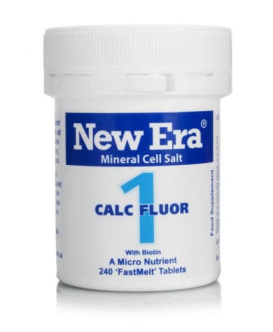 Named New Era 1 Calcium Fluoratum Integratore Alimentare 240 Granuli Orosolubili - Farmastar.it