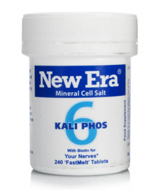 New Era 6 Kalium Phosphoricum Integratore Alimentare 240gr - Farmacistaclick