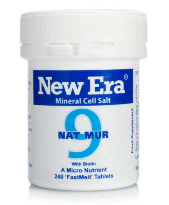 New Era 9 Natrium Muriaticum 240 Granuli - Farmalilla