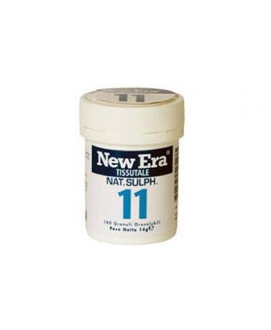 New Era 11  Integratore Alimentare 240 Granuli Orosolubili - Farmacistaclick