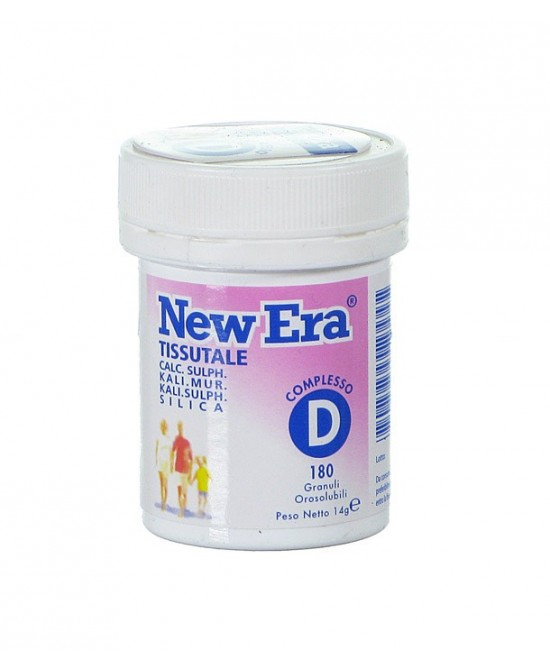 NEW ERA D 240 GRANULI 19,2 G - latuafarmaciaonline.it
