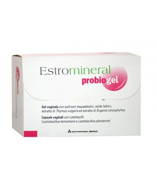 Estromineral Probiogel Gel 30ml + 6 Capsule Vaginali
