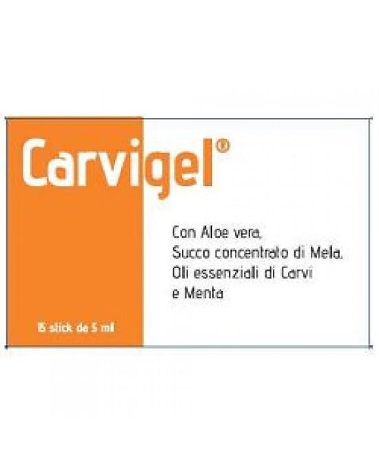 Carvigel 15 Oral Stick Integratore 5 ml