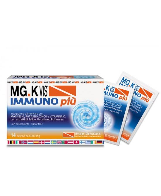 Pool Pharma Mgk Vis Immuno Più Integratore Alimentare 14 Buste - FARMAPRIME
