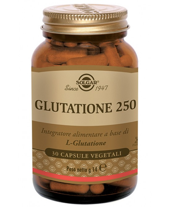 Glutatione 250 Integratore Alimentare 30 Capsule Vegetali - Farmaconvenienza.it