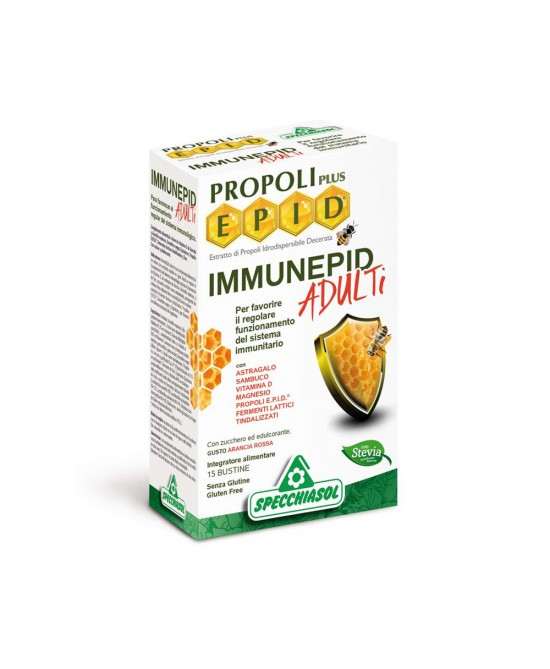 Immunepid Adulti Integratore Difese Immunitarie 15 Bustine