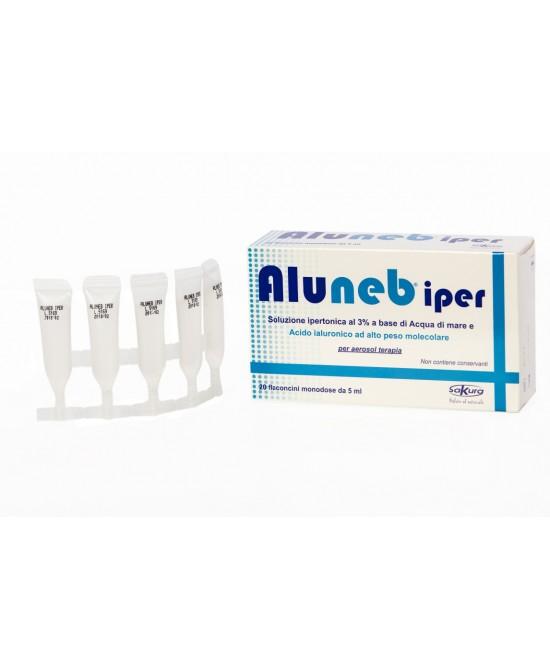 Aluneb Iper Soluzione Da Nebulizzare 20 Flaconcini - Zfarmacia