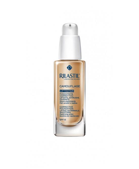 Rilastil Cosmetic Camouflage Fondotinta Liftrepair Nuance 30 Honey 30ml - Farmaci.me