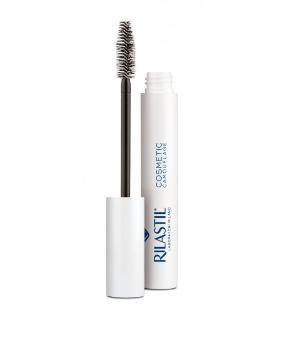 Rilastil Cosmetic Camouflage Mascara Rinforzante Ad Effetto Volumizzante 8ml - Farmapage.it