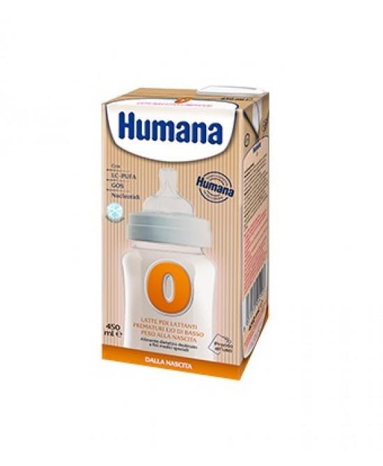 Humana 0 Latte Liquido Per Lattanti Con Lc-Pufa. Con Prebiotici Gos E Con Nucleotidi 450ml - Farmaci.me