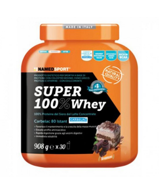 Named Sport Super 100% Whey Integratore Gusto Tiramisù 908 g