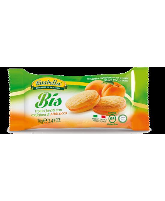 Farabella Bis Frollini Con Crema Albicocca Senza Glutine 70g - FARMAEMPORIO