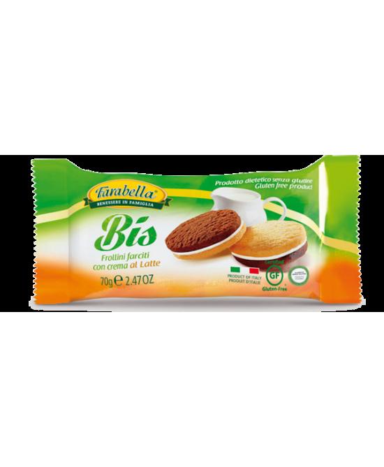 Farabella Senza Glutine Biscotti Frollini Latte 70 g