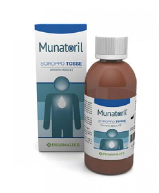 Pharmaluce Munatoril Sciroppo Tosse Dispositivo Medico 150ml - La farmacia digitale