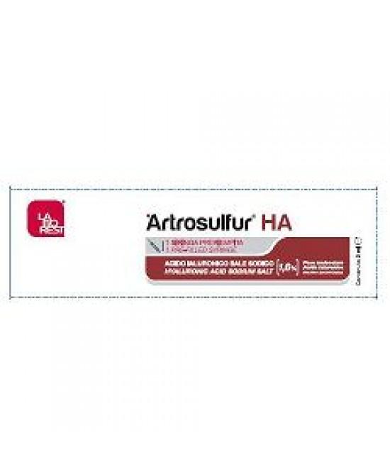 Artrosulfur Ha 3sir 2ml Prerie - Farmapage.it