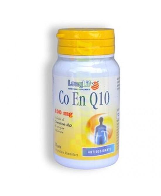LongLife Co En Q10 200 mg Integratore 20 Perle