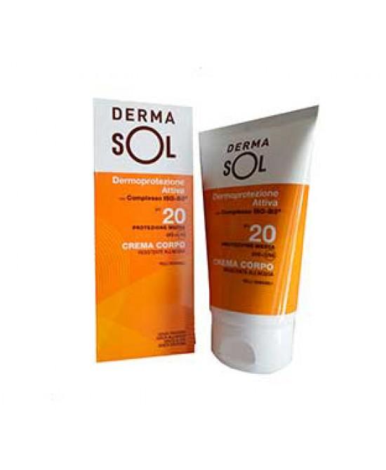 Dermasol Crema Solare Corpo Protezione Media Spf 20 100ml - Farmabravo.it