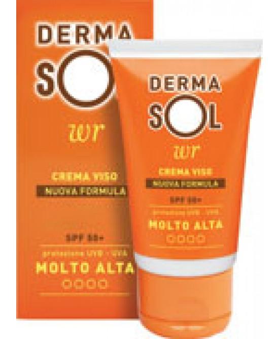 Dermasol Crema Solare Viso SPF 50+ Protezione Molto Alta 50 ml