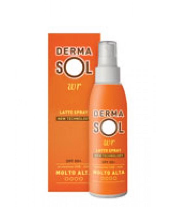 Dermasol Latte Solare Spray SPF 50+ Protezione Corpo 200 ml