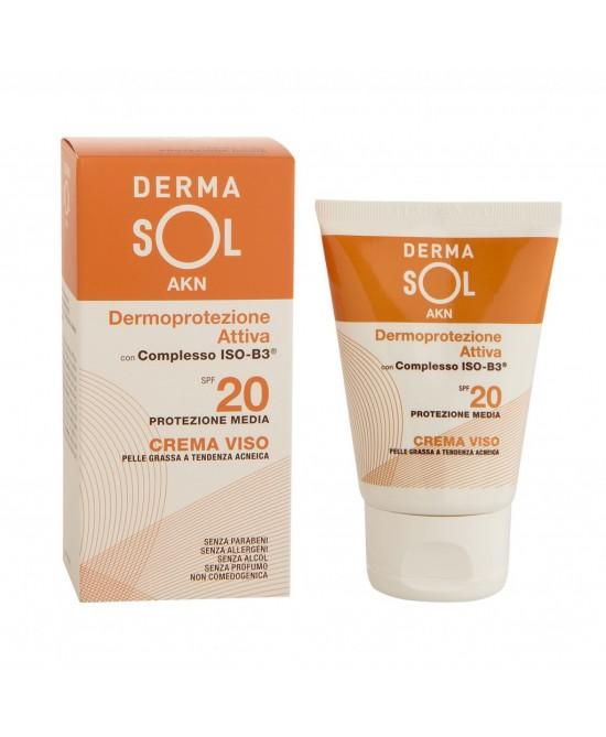 Dermasol Akn Crema Viso Dermoprotezione Attiva Spf 20 50ml - Farmaconvenienza.it