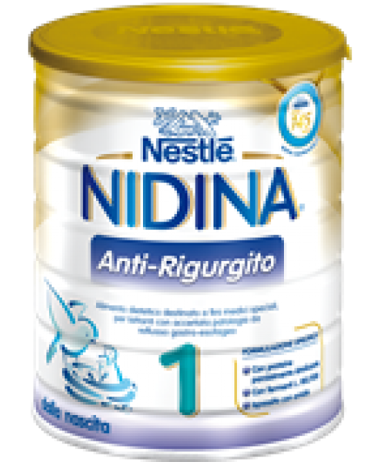 NESTLE NIDINA AR 1 ANTI-RIGURGITO 800 G - Spacefarma.it