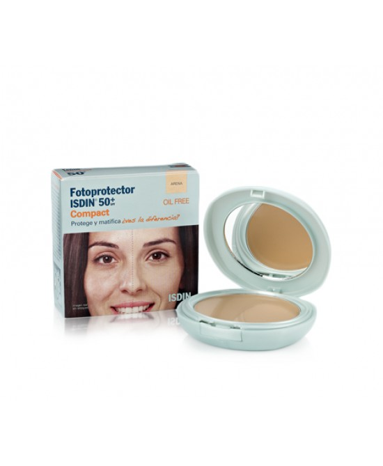 Isdin Fotoprotector Compact Spf 50+ Colore Arena 10g