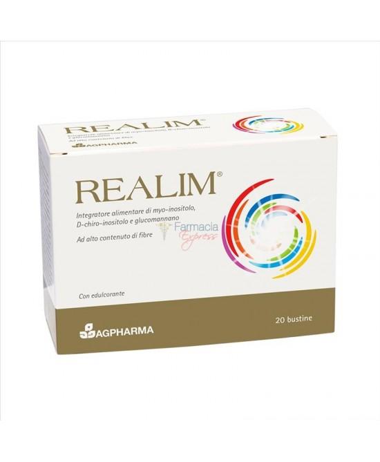 Realim Integratore Alimentare 20 Bustine - Farmapc.it