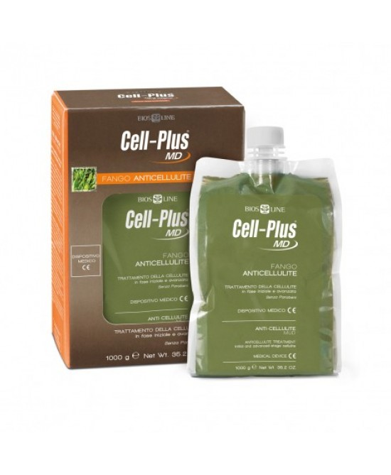 BiosLine Cell Plus MD Fango Anticellulite 1Kg - Farmastar.it