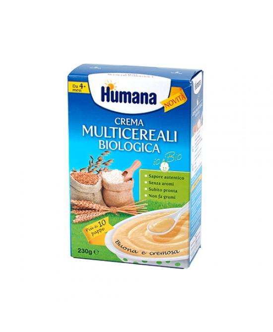 Humana Crema Multicereali Biologica Buona E Cremosa 230g - Farmacia 33