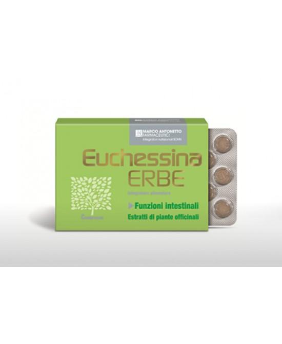 EUCHESSINA ERBE 18 COMPRESSE - Farmacia Basso