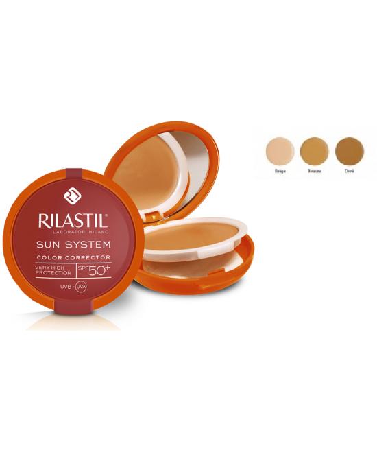 Rilastil Sun System PPT Correttore Del Colore SPF 50+ Tonalità 03 Dorè - La farmacia digitale
