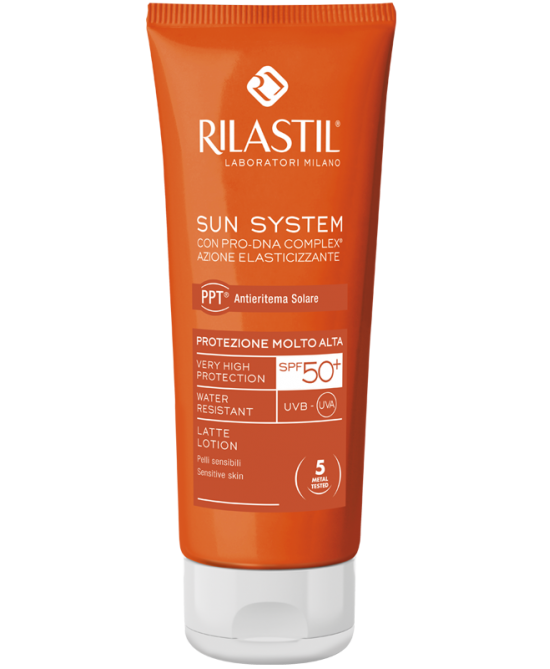 Rilastil Sun System PPT Latte SPF50+  100ml - La farmacia digitale
