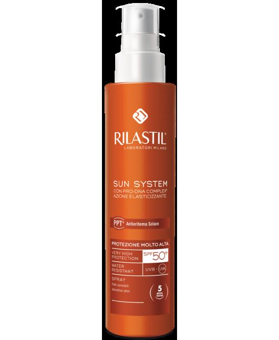 Rilastil Sun System Spray Solare SPF 50+ Protezione Corpo 200 ml