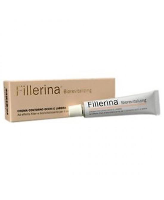 Labo Fillerina Biorevitalizing Contorno Occhi E Labbra Preparato Grado 3 Bio Tubo 15ml
