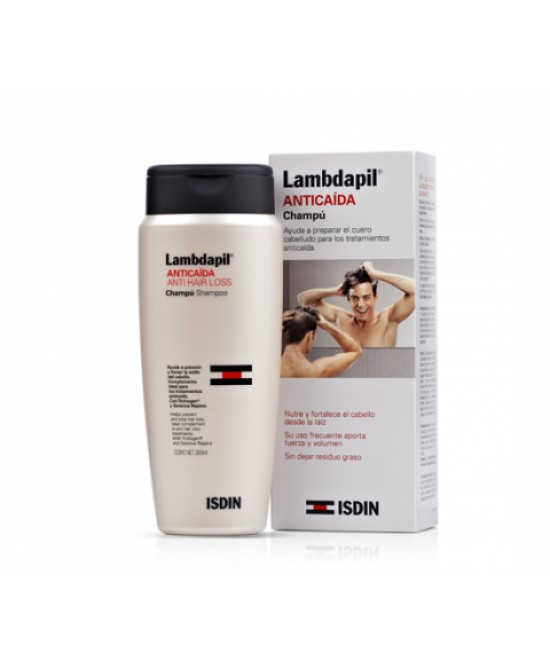 Lambdapil Anticaida Shampoo Perdita di Capelli 200ml