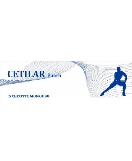 Cetilar Patch Cerotto Ad Azione Locale 5 Pezzi - Farmastar.it