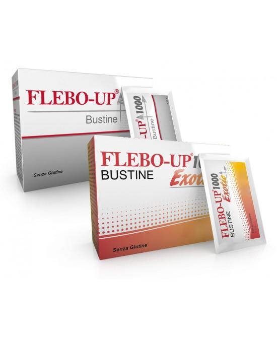 Flebo-Up 1000 Integratore Sistema Circolatorio 18 Bustine