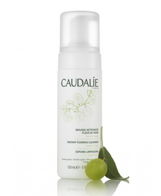 Caudalie Duo Mousse Nettoyante Fleur De Vigne Schiuma Detergente 2 Flaconi 150ml - Farmawing
