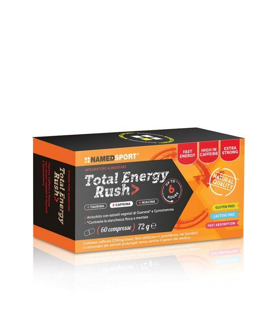 NAMED SPORT TOTAL ENERGY RUSH 60 COMPRESSE - Farmaciacarpediem.it