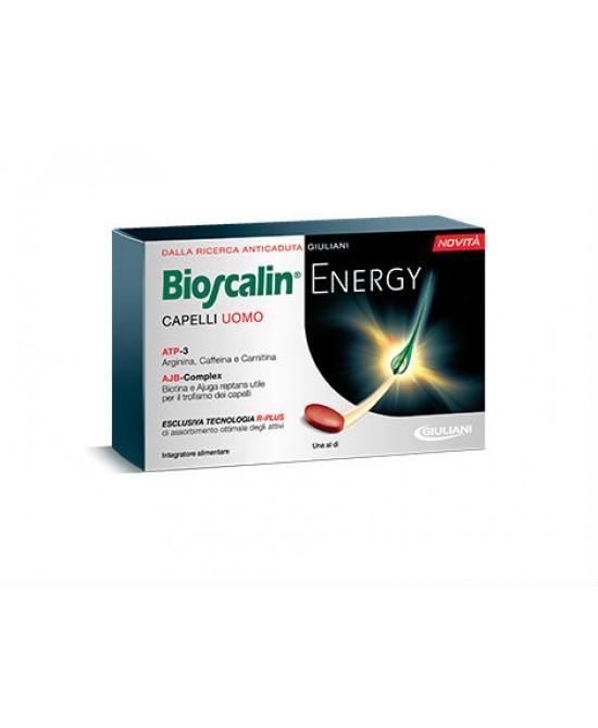 Bioscalin Energy Capelli Uomo Integratore Alimentare 30 Compresse - FARMAPRIME