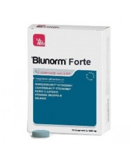 Blunorm Forte Integratore Per La Circolazione 20 Compresse Fast-slow