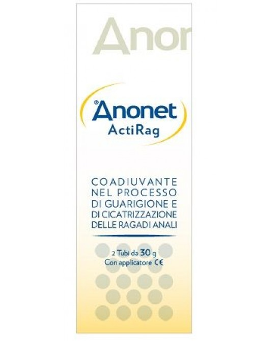 Uniderm Anonet ActiRag Coadiuvante Per Ragadi Anali 30g+30g - Farmafamily.it