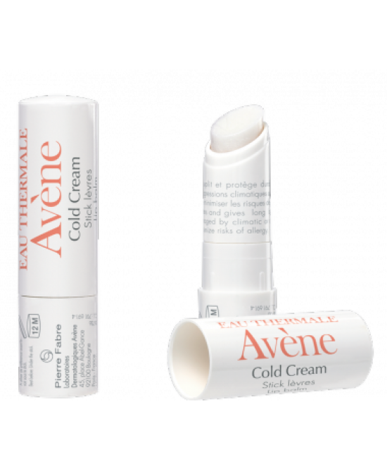 Avène Cold Cream Stick Labbra 4g - FARMAEMPORIO