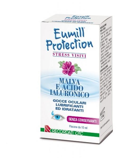 EUMILL GOCCE OCULARI PROTECTION FLACONE 10 ML - Farmaciacarpediem.it