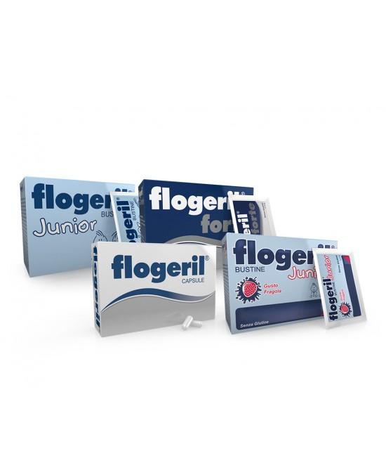 Flogeril Junior Fragola 20 Bustine - Farmaci.me